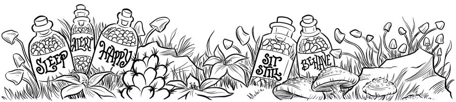 Tinker's Pills Illustration
